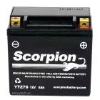 YTZ7S Scorpion 12v 130 CCA AGM ATV & Motorcycle Battery