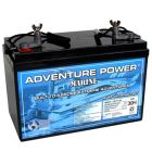Universal 12v 90 AH Dual Purpose AGM Battery UB12900-40602