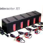Interacter 12v 50 Amp (10 Amp Per Bank) Professional Series 5 Bank Charger PS1210x5