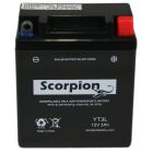 YT3L Scorpion 12v 35 CCA Sealed AGM Motorcycle Battery