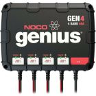 NOCO Genius 12v 24v 36v 48v 40 Amp 4-Bank Marine On-Board Charger