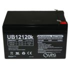 Universal 12v 12 AH Deep Cycle Sealed Lead Acid Battery w/ F2 Connectors