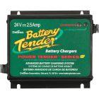 Battery Tender 24v 2.5 Amp Water Resistant Power Tender Plus Charger