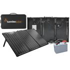 Samlex 135 Watt 12V Solar Charging Kit - MSK-135
