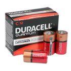 Duracell Quantum C Alkaline Battery 12 Pack - QU1400