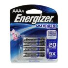 Energizer AAA Ultimate Lithium 4 Pack - L92BP-4