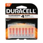 Duracell 13 Hearing Aid Battery with EasyTab 8 Pack - DA13B8ZM09
