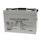 Universal 12v 90 AH Deep Cycle Gel Battery UB27-47608