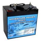Universal 12v 55 AH Dual Purpose AGM Battery UB12550-40600