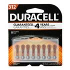 Duracell 312 Hearing Aid Battery with EasyTab 8 Pack - DA312B8ZM09