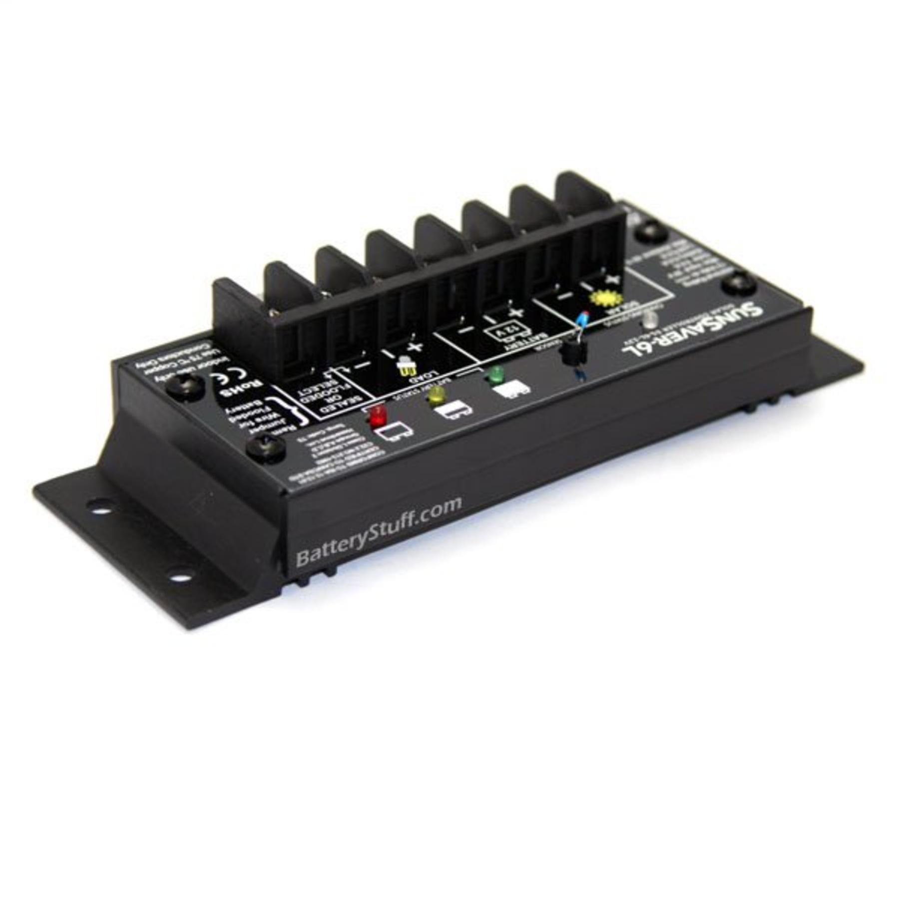 Morningstar SHS-6 Solar Controller 6 Amp 12 Volt 100 Watts Patio ...