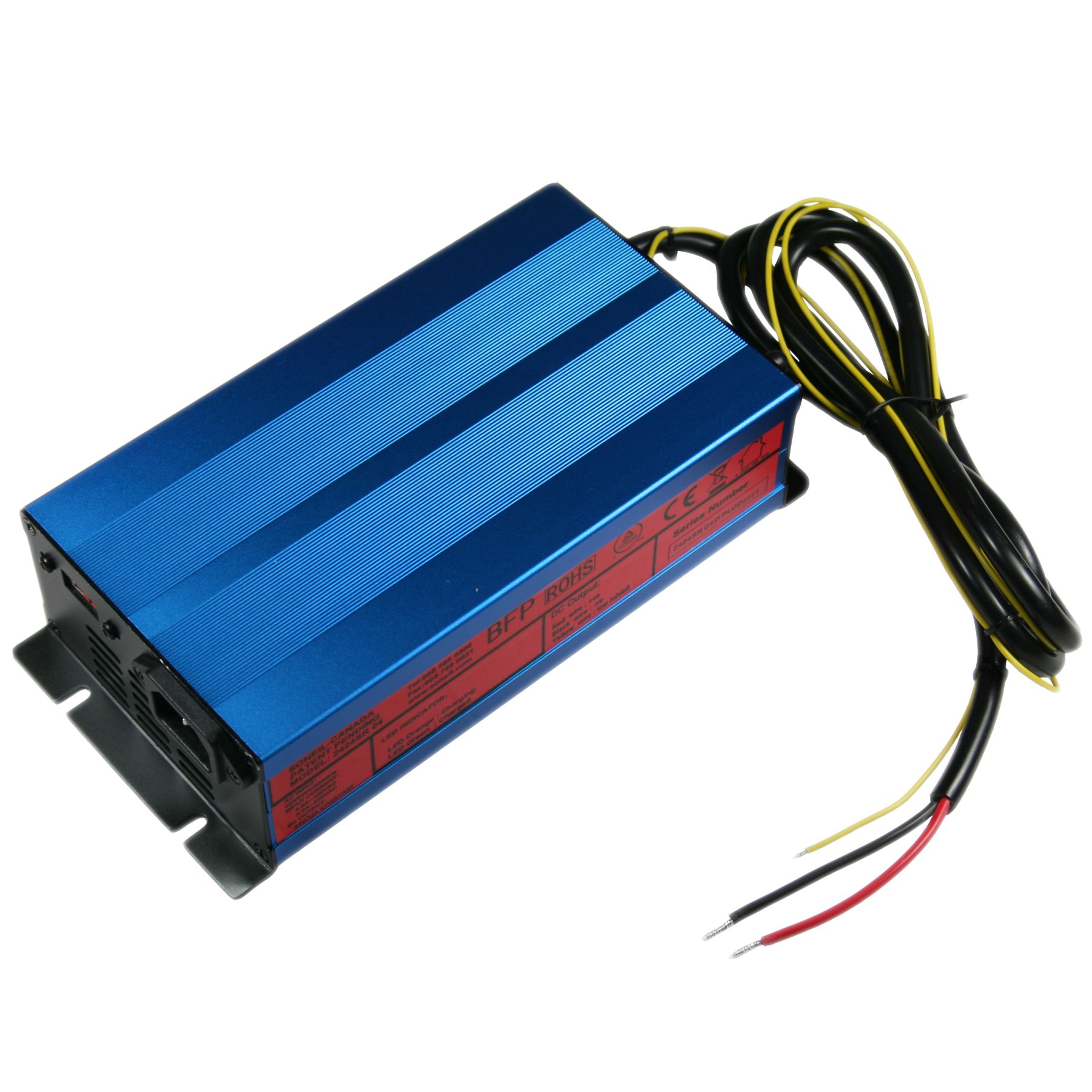 2424sr04 Soneil 24v 12 Amp Constant Current Smart Charger Sealed Lead Acid Battery Dual Step Mode
