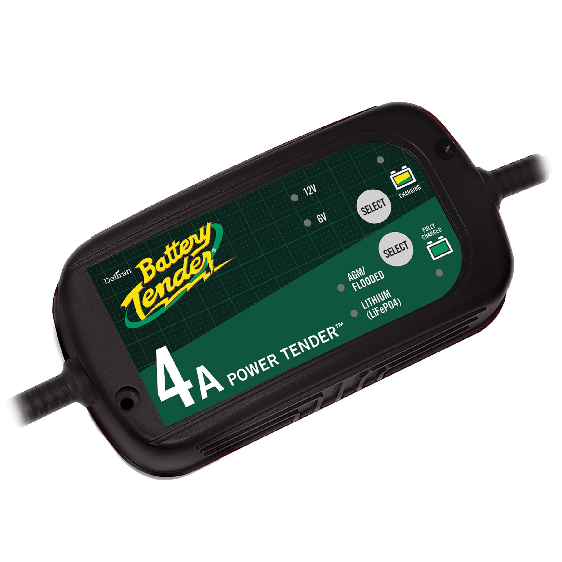 022 0209 Dl Wh Battery Tender 6v 12v 4 Amp Lead Acid Lithium Charger Note Or You Can Use This Automatic 6v12v With