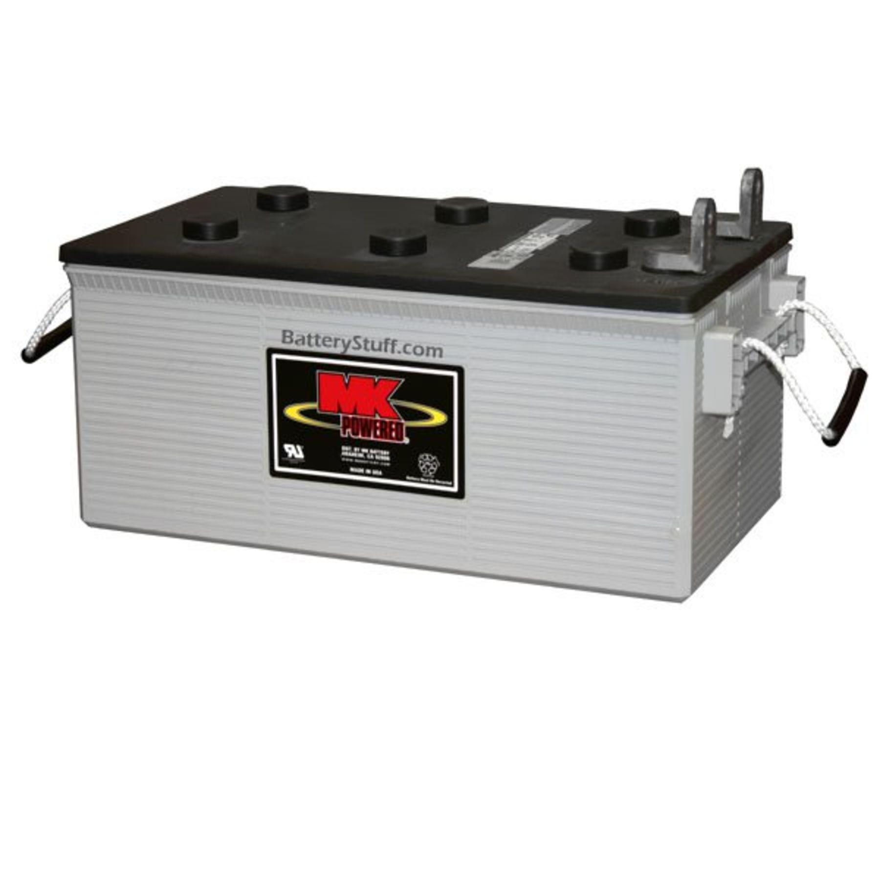 Mk Battery 12 Volt 200 Ah Deep Cycle Agm Rv Amp Marine Battery