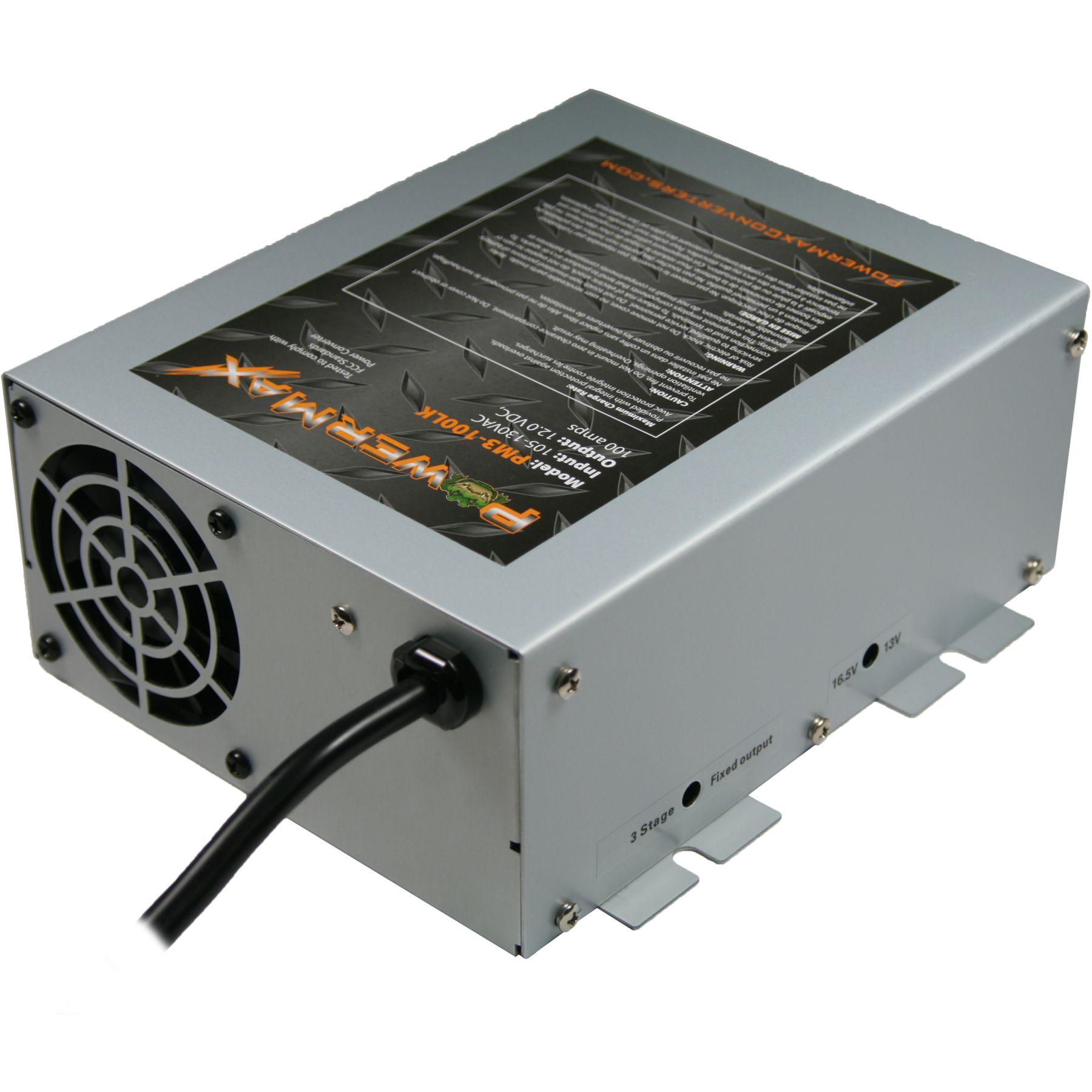 Pm3 100lk Powermax Converters 12v 100 Amp Charger Converter Powersupply