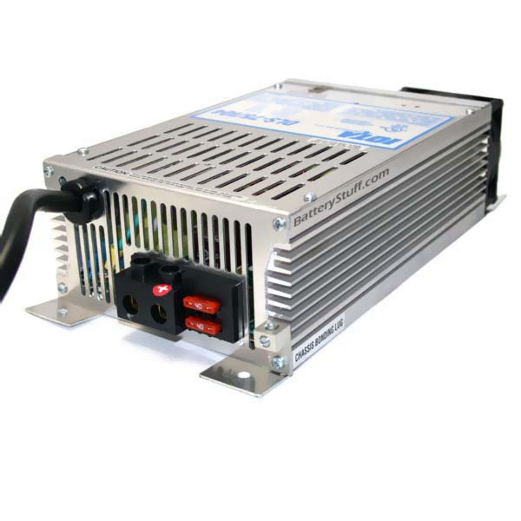 Iota 12 Volt 75 Amp W Integrated Iq4 Sensor Dls 6 To Power Supply Inverter