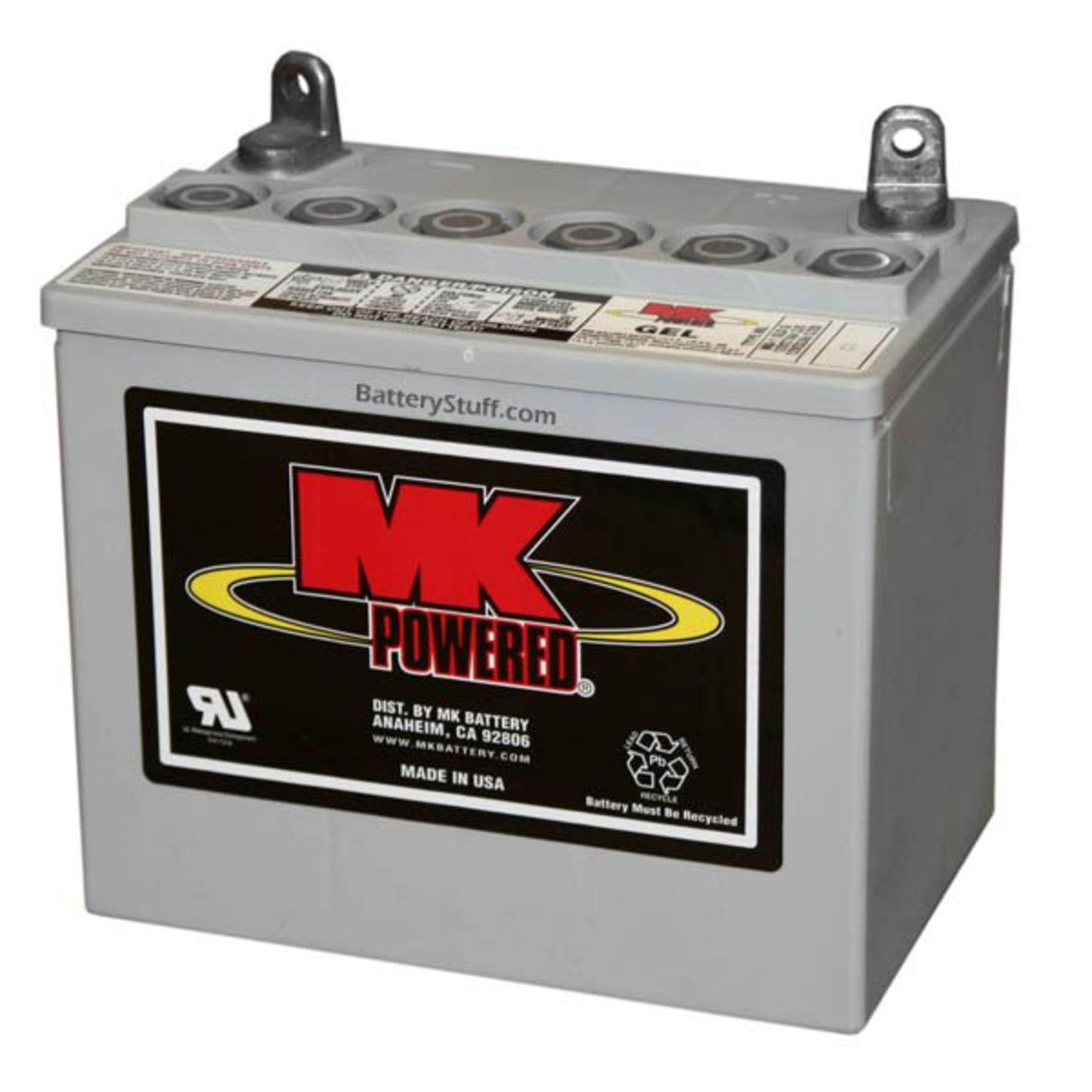 U Batteries 8AU1H   MK Battery 12 ...