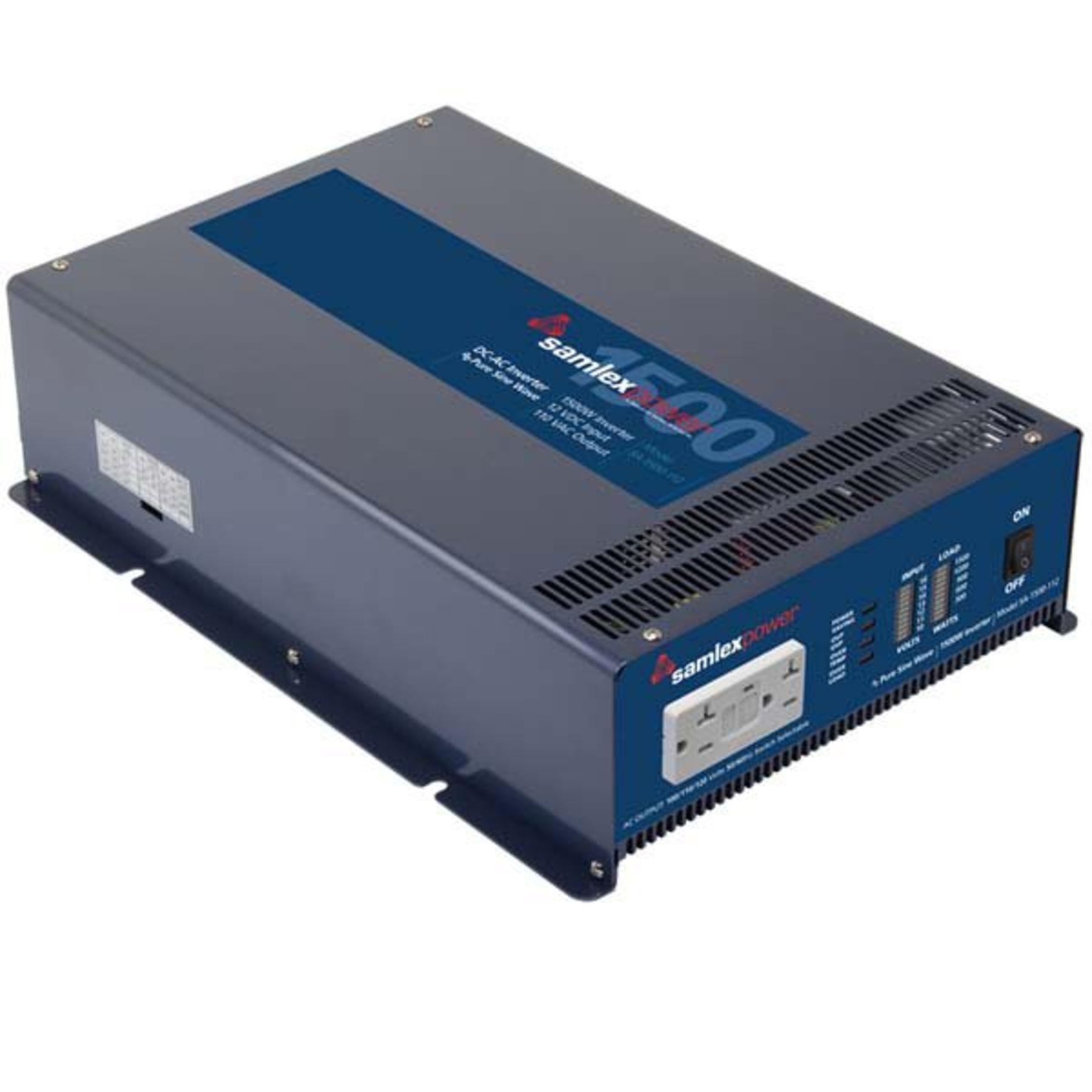 Sa 1500 112 Samlex 12v Watt Pure Sine Wave Inverter 12 Vdc To 120 Vac Circuit