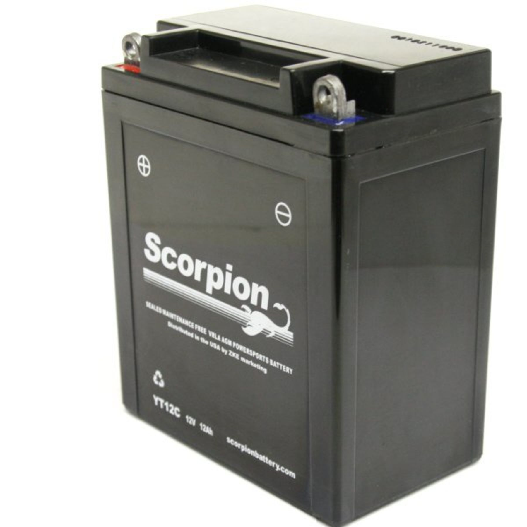 yt12c battery scorpion 12 volt motorcycle batteries. Black Bedroom Furniture Sets. Home Design Ideas