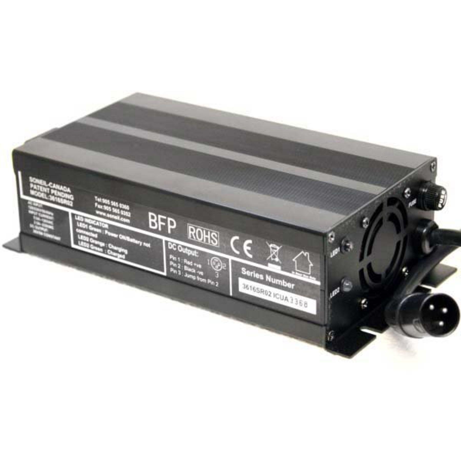 Soneil 36 Volt 8 Amp 6v 12v 27a 3step Lead Acid Battery Charger Car