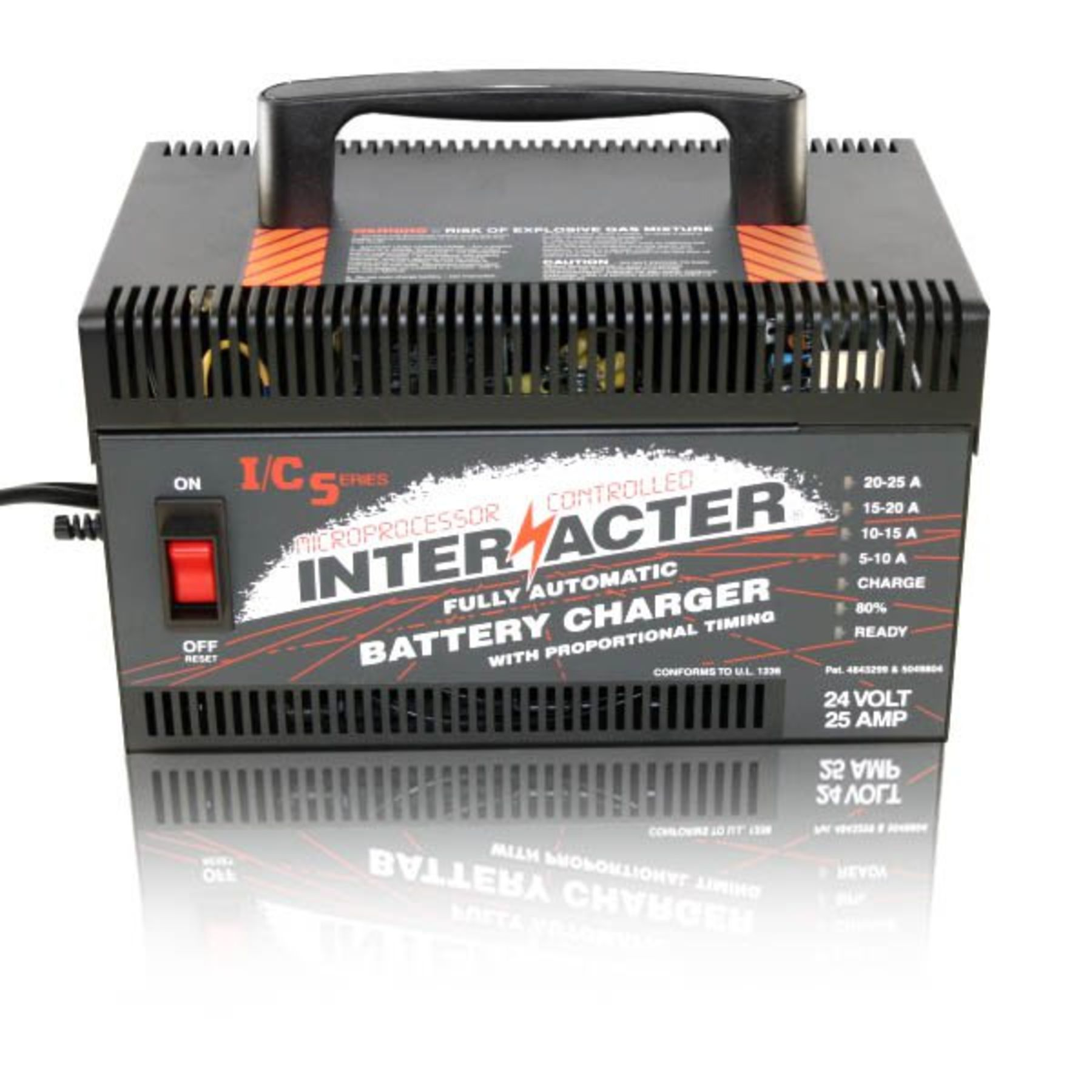 Interacter Industrial Commercial Series Charger Ics2425 Make A 25 Amp Solar Battery Power Supply Circuit Schematics