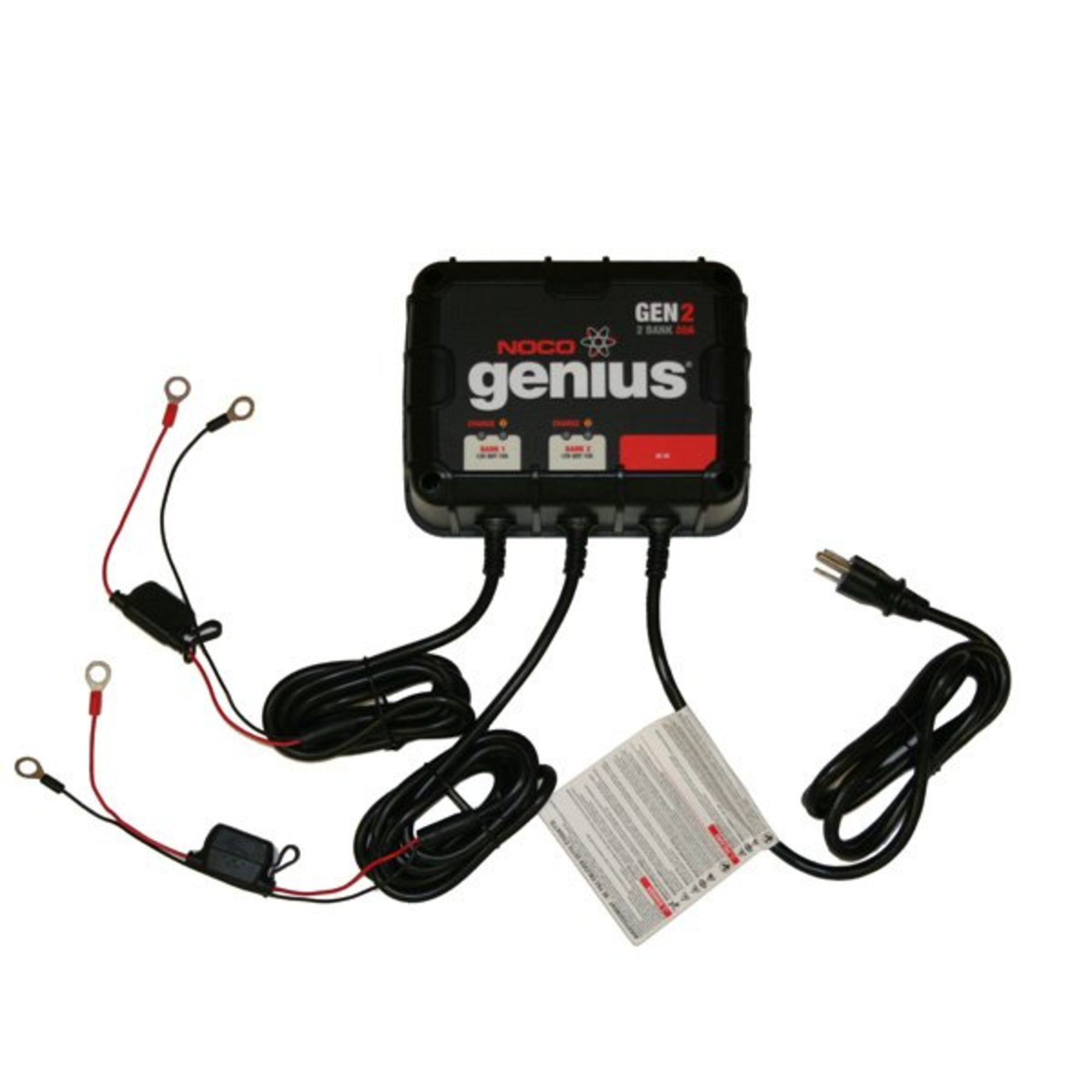 Genius 12 24v 10a X 2 Bank Charger Noco Wiring Diagram