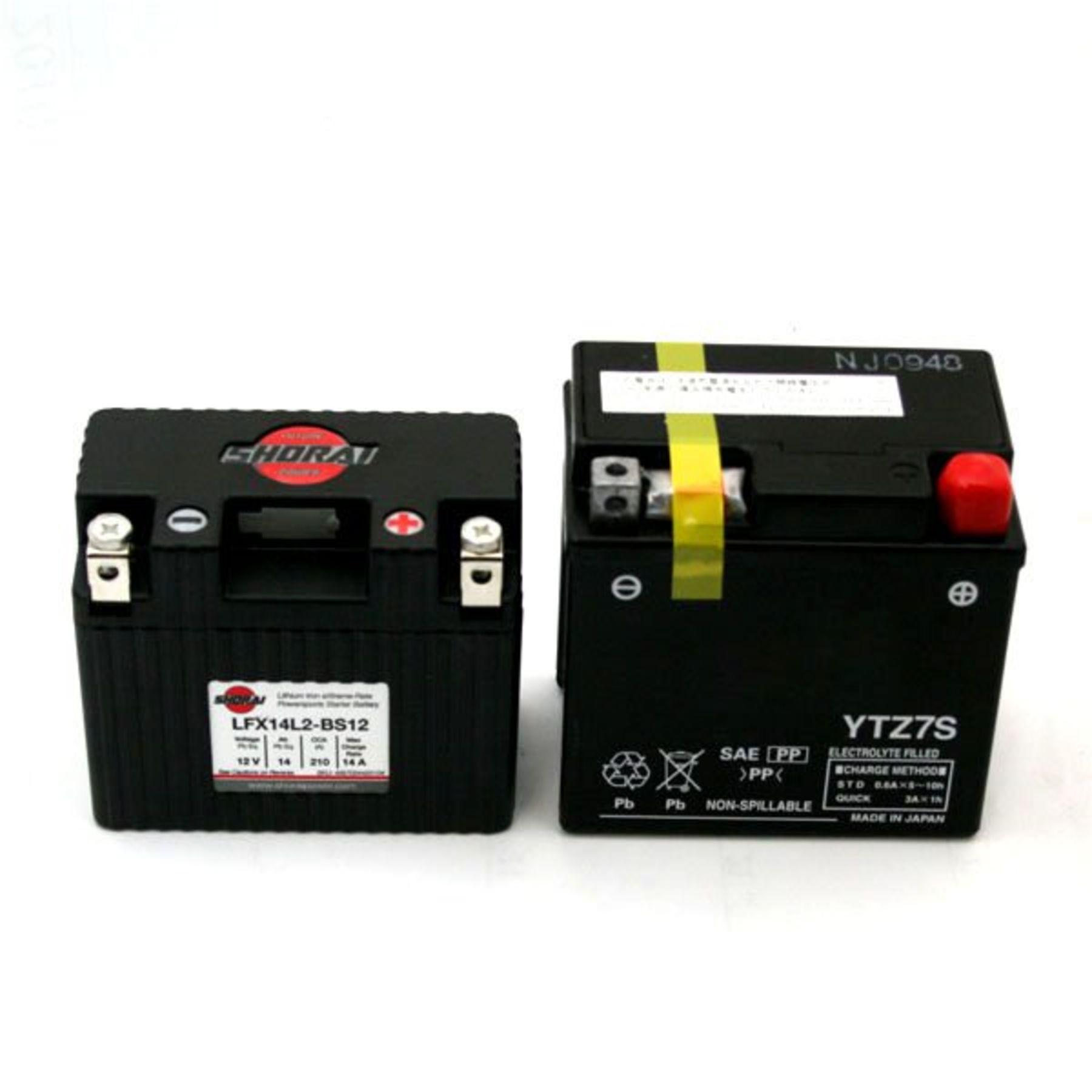Lifepo4 Battery 14ah 12v Lithium Motorcycle Atv Batteries 12 V Wiring Diagram 350 Cc 500 Us Canada Version Lfx14l2 Bs12