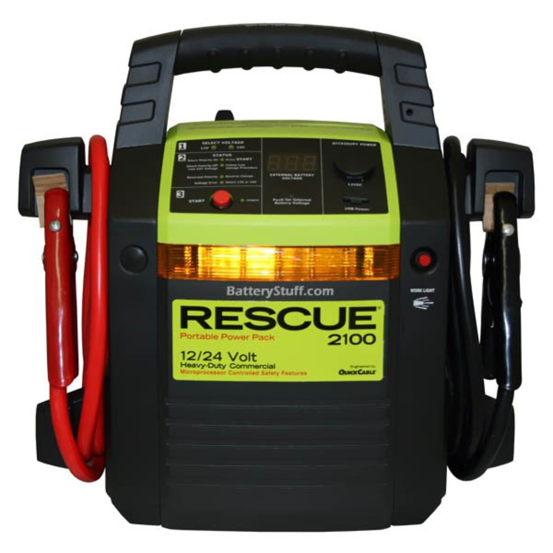 Rescue 2100 Jump Pack 12 24 Volt