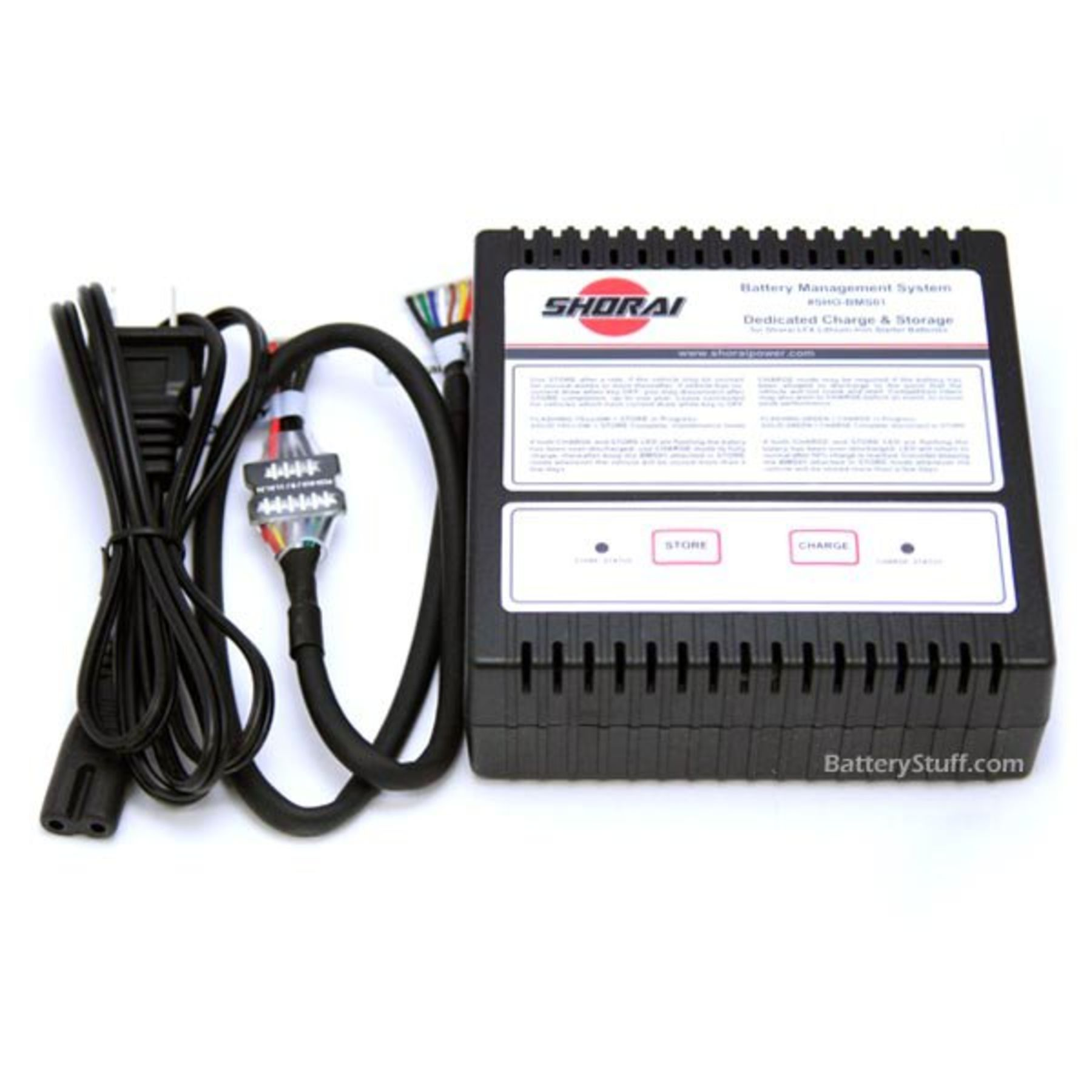 Shorai Lfx Bms01 Lithium Iron Charger Note Or You Can Use This Automatic Battery 6v12v With
