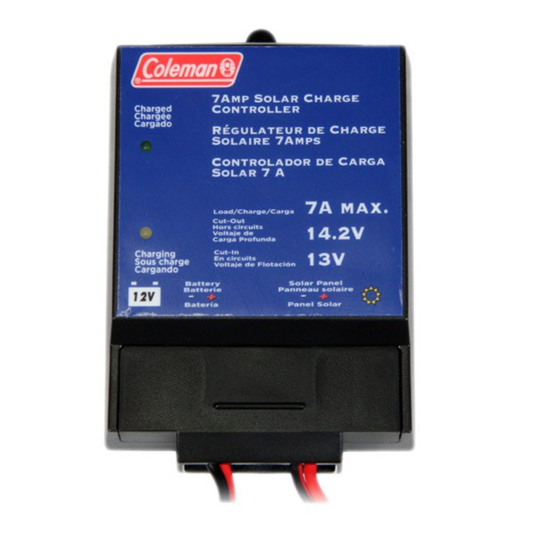 Coleman 7 Amp Solar Charge Controller With Rings 68012 Battery Charging