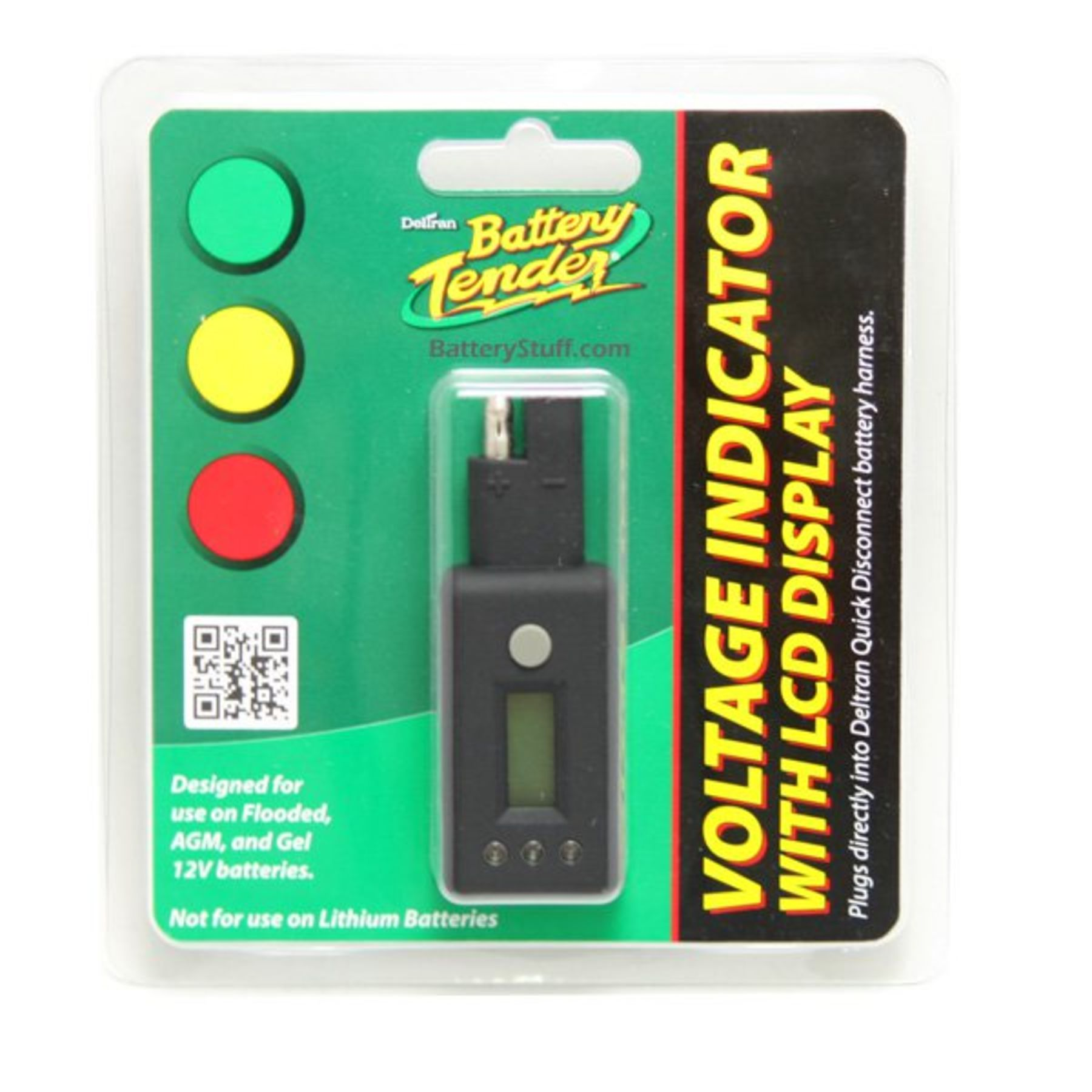 Battery Tender Digital Voltage Indicator With Lcd Display