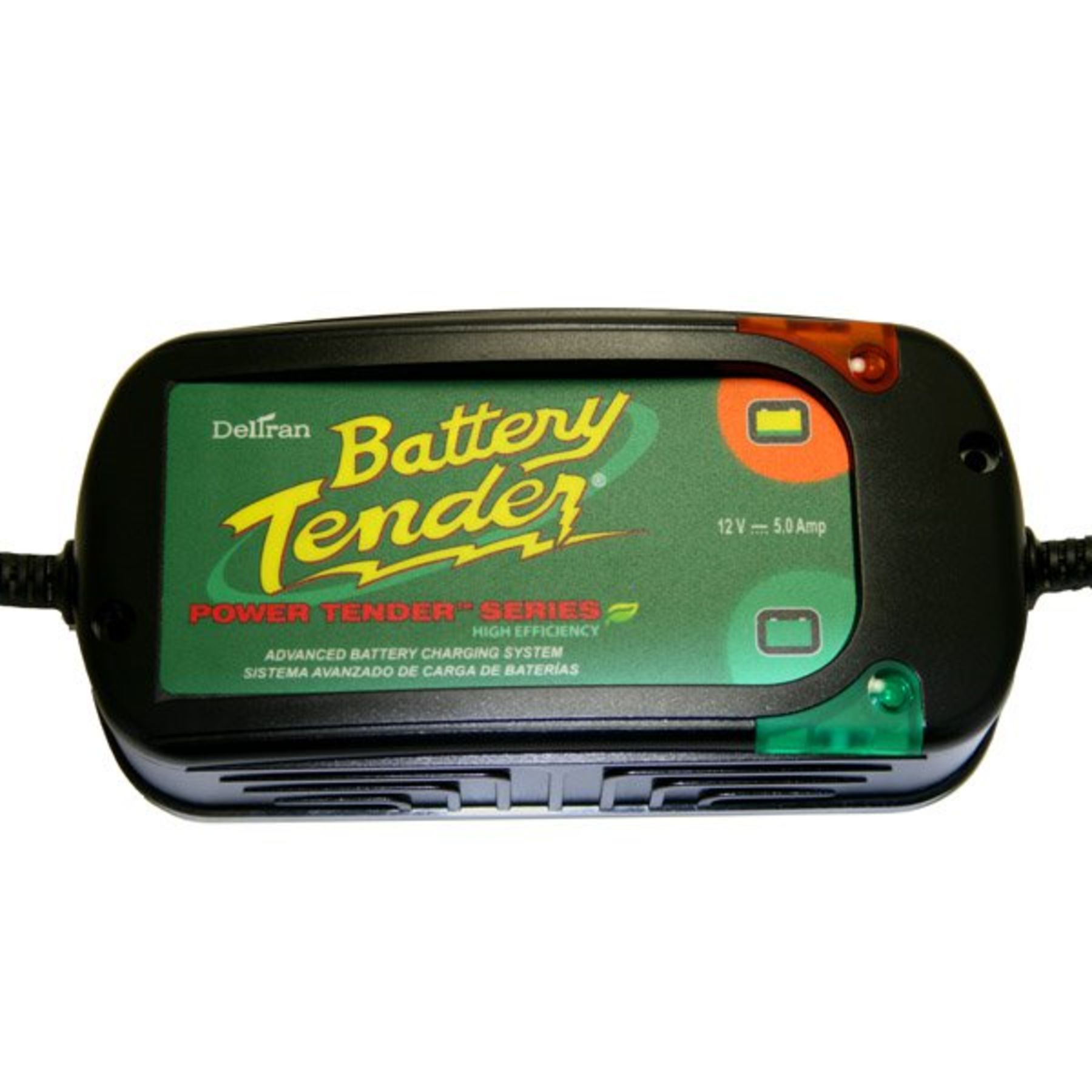 BATTERY TENDER PLUS 5 AMP HE CHARGER 022-0186G-DL-WH