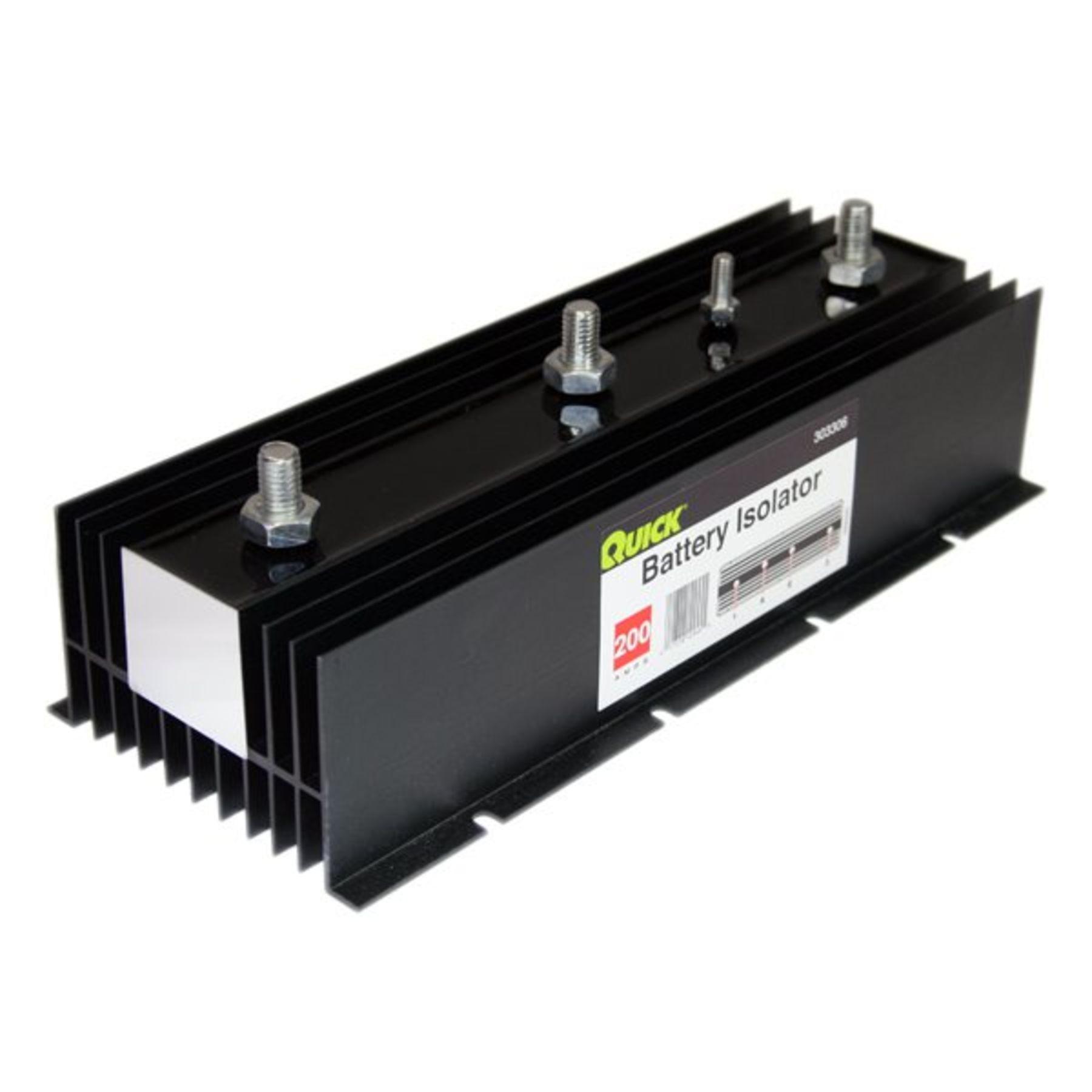 Quick Power 200 Amp Battery Isolator Marine Further 2 Alternator 3 Wiring