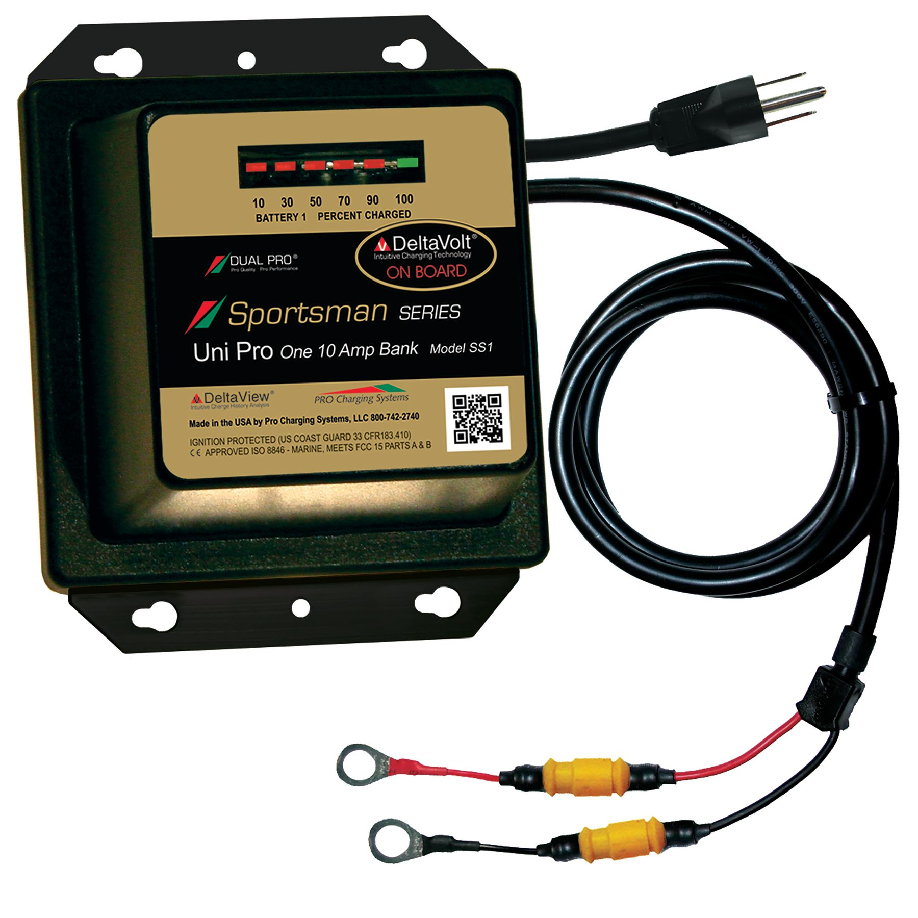 Ss1 Dual Pro 12 Volt 10 Amp Sportsman Series Charger Wiring Onboard Battery