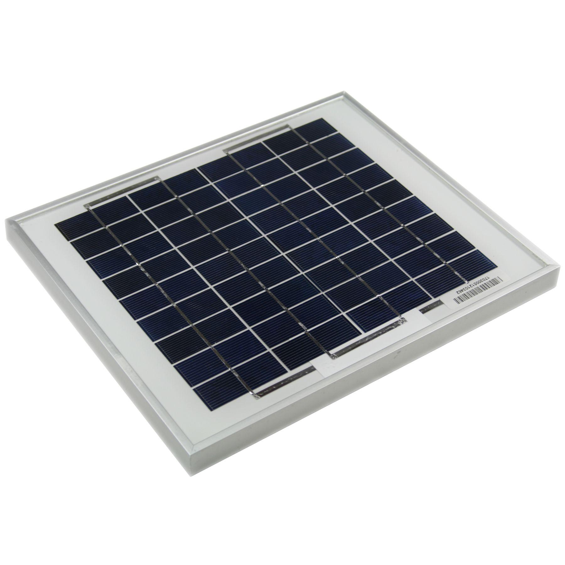Solarland 12 V 5 Watt Solar Panel Slp005 12u W