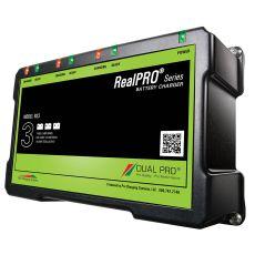 Dual Pro 12v 24v 36v 18 Amp RealPRO Series 3-Bank Marine Charger RS3