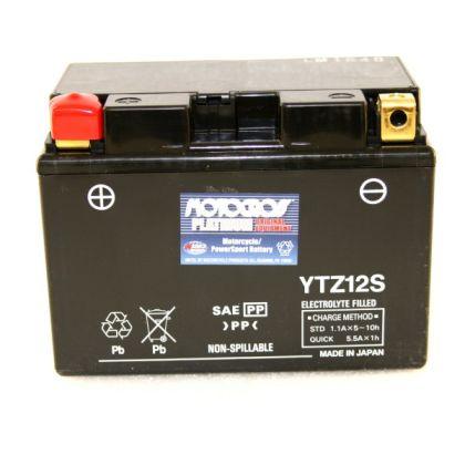 150x87x110mm 12V|11Ah|CCA:210A Motorrad Batterie YUASA YTZ12S AGM geschlossen