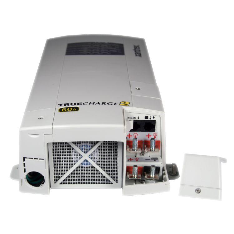 804 1260 02 xantrex truecharge2 60 12v 40 amp 3 bank battery charger. Black Bedroom Furniture Sets. Home Design Ideas