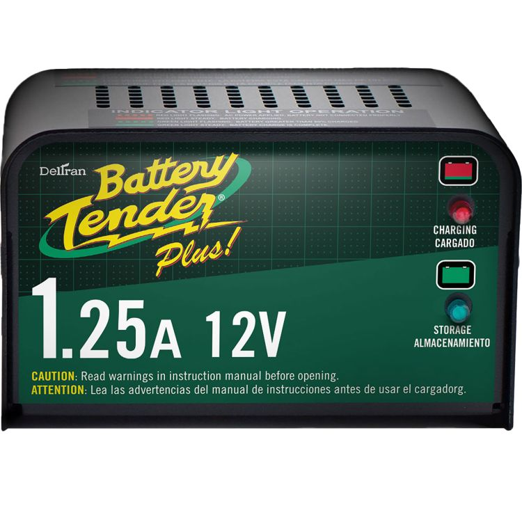 Battery Tender Plus 12v 1 25 Amp 4 Stage Smart Charger