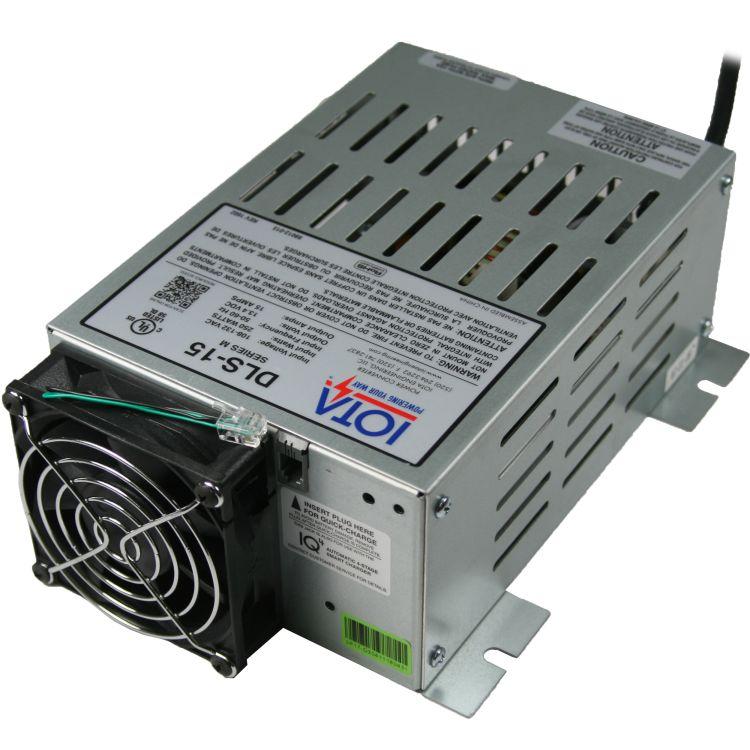 IOTA 12v 15 Amp Power Converter / Battery Charger