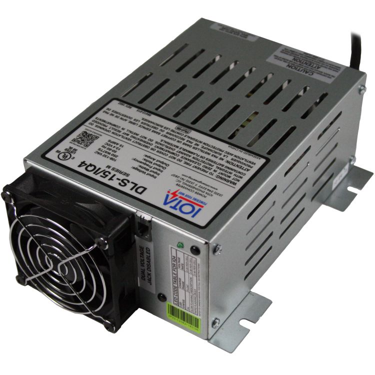 12 Volt Converter >> Iota 12v 15 Amp Charger Converter Power Supply W Integrated Iq4 Sensor