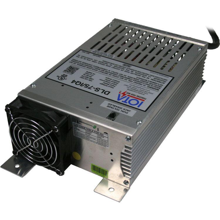 12 Volt Converter >> Iota 12v 75 Amp Charger Converter Power Supply W Integrated Iq4 Sensor
