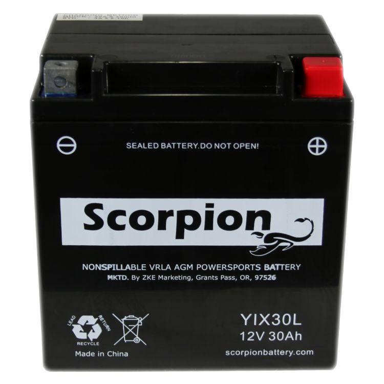 YIX30L Scorpion 12v 380 CCA AGM Power Sport & Motorcycle Battery
