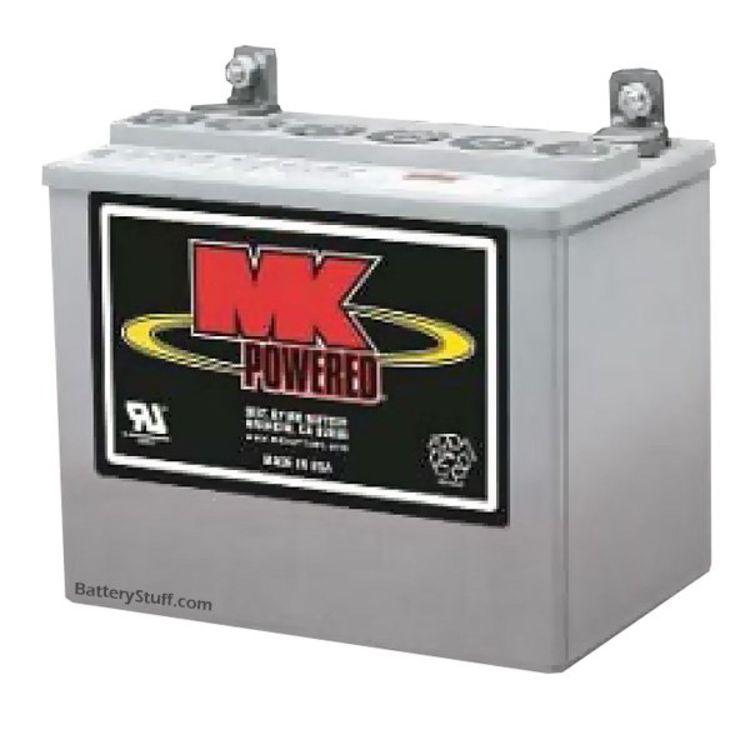 mk battery 12 volt 31 ah deep cycle gel rv marine battery. Black Bedroom Furniture Sets. Home Design Ideas