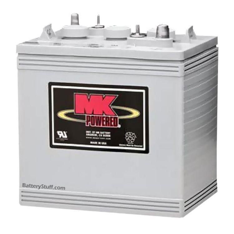 mk battery 6 volt 180 ah deep cycle gel rv marine battery. Black Bedroom Furniture Sets. Home Design Ideas