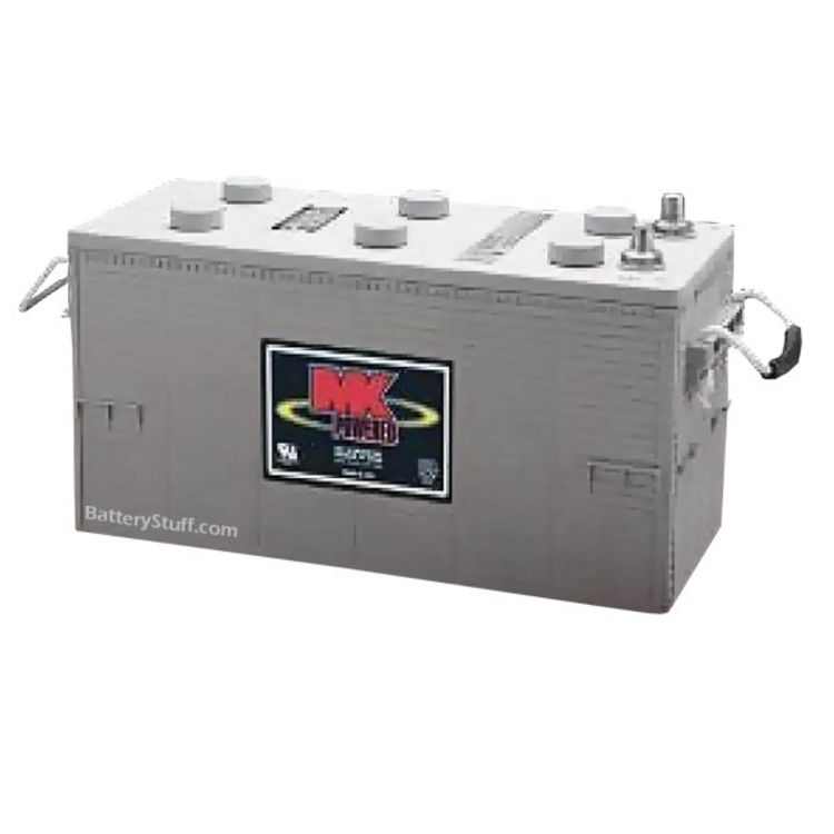 mk battery 12 volt 183 ah deep cycle gel rv marine battery. Black Bedroom Furniture Sets. Home Design Ideas