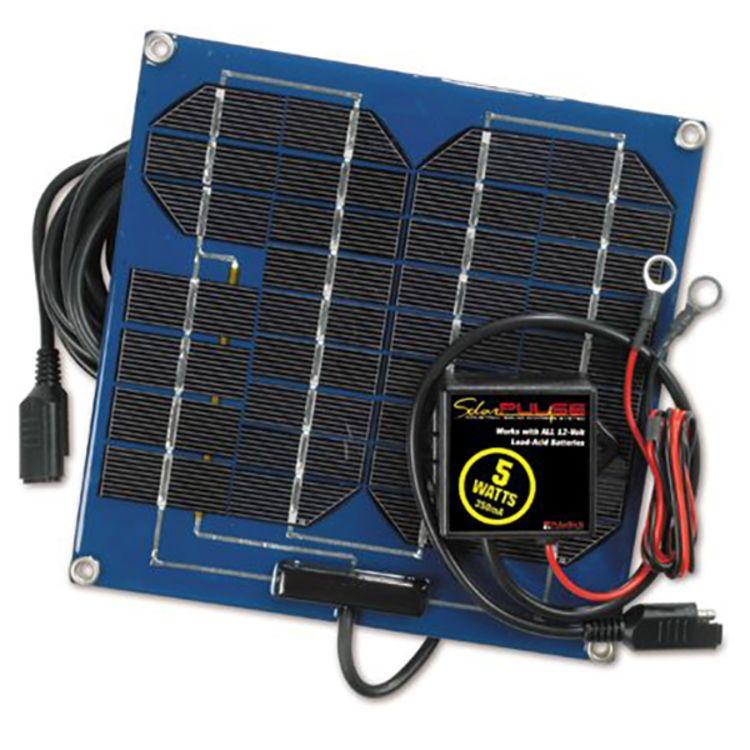 Pulse Tech 12v 5 Watt Solar Charger with Desulfator Controller SP-5