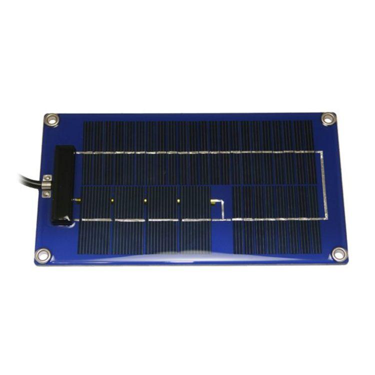 Pulse Tech 12v 2 Watt Solar Charger with Desulfator Controller SP-2
