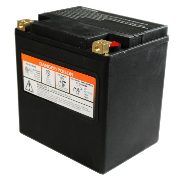 Harley Davidson Battery >> Yix30hl Battery Harley Davidson 12 Volt Motorcycle Batteries