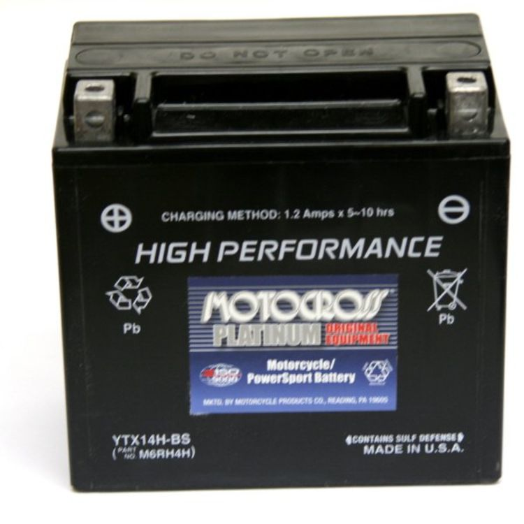 5fc5b5d5 YTX14-BS | Motocross 12 Volt Replacement Motorcycle Battery from Yuasa